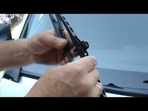 Renault Logan Логан замена щёток стеклоочистителей