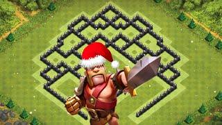 Clash Of Clans - Layout de Defesa da Atualização para Centro de Vila 8 (Town Hall 8 Trophy Base) #5