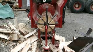 getlinkyoutube.com-Homemade firewood processor Part 2