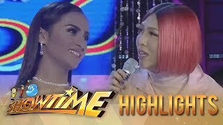 It's Showtime Miss Q & A: Vice envies anyone who has a small face