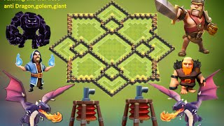 getlinkyoutube.com-clash of clans - Town hall 9 - th9 best farming base defense 2015 , anti giant anti gowipe + replay
