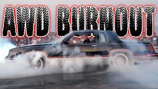 AWD Cutlass Burnout ROUND 2!?