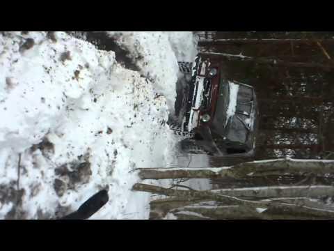 UAZ(УАЗ) in snow