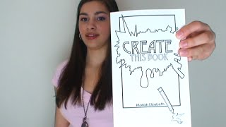 getlinkyoutube.com-Introducing My New Creativity Journal (Create This Book)