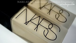 Review : NARS All Day Luminous Weightless foundation