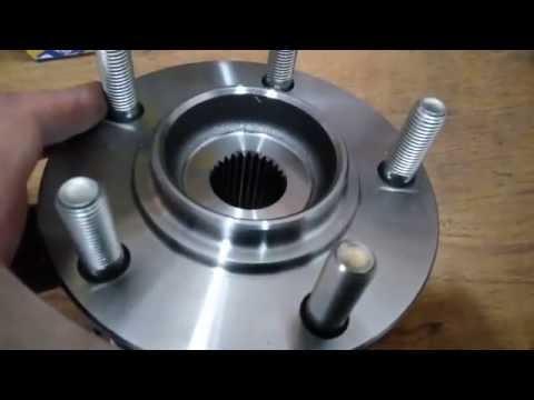 Задний ступичный подшипник Mitsubishi. Задняя ступица. Обзор. Aft hub bearing review.