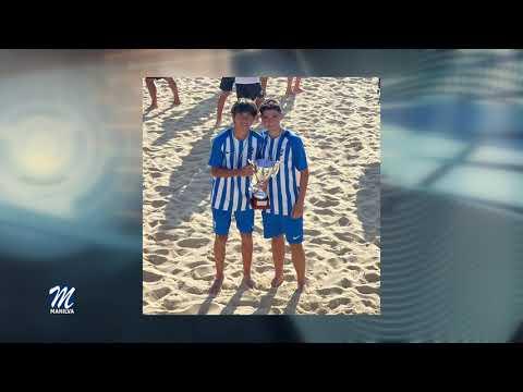 Pablo Jiménez y Javi Aguilar subcampeones autonómicos de Fútbol playa
