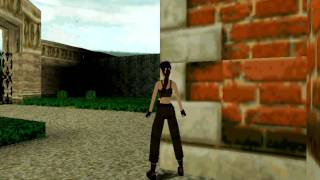 getlinkyoutube.com-Tomb Raider II Walkthrough - Croft Mansion & Great Wall - Part 1