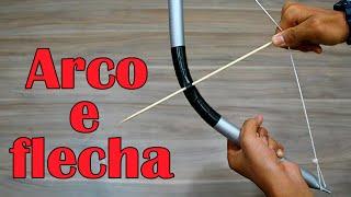 getlinkyoutube.com-Como fazer um Arco e flecha (Arma caseira)