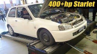 getlinkyoutube.com-400+hp Starlet sleeper!
