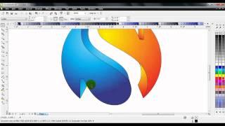 getlinkyoutube.com-CorelDraw X5 Turorial Simple 3D Sphere Logo