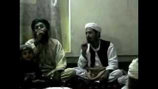 sar ahmad&hussan shah pushto naat in tehkall na gora hussan o width=