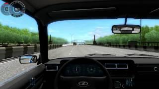 getlinkyoutube.com-City Car Driving 1.3.3 VAZ 2107 G27 HD