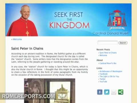 Cardinal Wuerl of Washington enters blogosphere