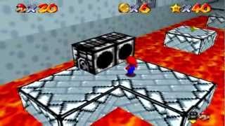 getlinkyoutube.com-Super Mario Star Road Walkthrough Part 7: Bowser's Slippery Swamp + Retro Castle [No Save States]