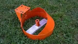 getlinkyoutube.com-Tarup (kopačica) za trimere