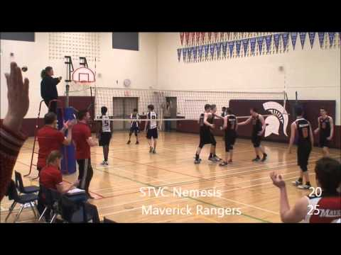 2014 17U Boys Bugarski - Semi Final Match: STVC Nemesis vs Maverick Rangers