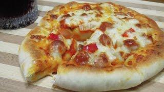 [몽브셰] 치즈크러스트 피자만들기(stuffed crust pizza)