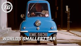 getlinkyoutube.com-The Smallest Car in the World at the BBC - Top Gear - BBC