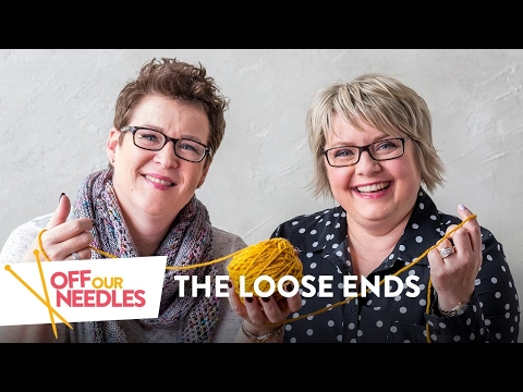 Striped Socks, Celebrities & Menopause (For Knitters Only)  | Off Our Needles LOOSE ENDS