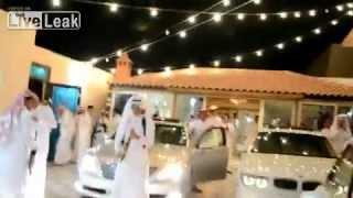 Арабская свадьба богатейшиt шейхи (стрельба по Rolls-Royce)