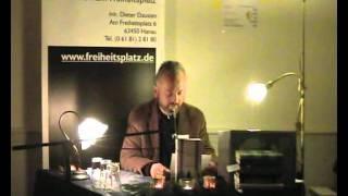 getlinkyoutube.com-Herbstlese 2011: Ferdinand von Schirach - Der Fall Collini
