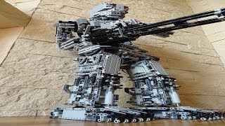 getlinkyoutube.com-Lego TERMINATOR 3 , motorized walking robot
