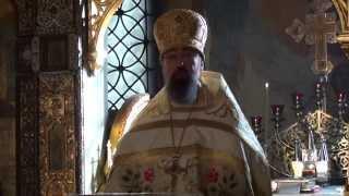 Проповедь архимандрита Филиппа в Неделю по Богоявлению