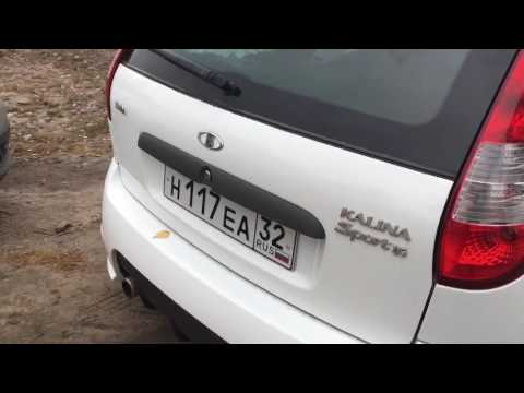 LADA Kalina Sport покупка автомобиля
