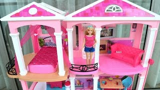 getlinkyoutube.com-Casa Da Barbie Nova Lancamento 2016 Open Box!!! Em Portugues Tototoykids