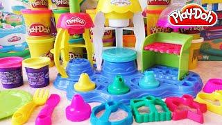 getlinkyoutube.com-Пластилин для Детей - Фабрика Выпечки | Play Doh