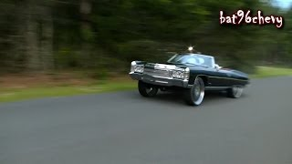"getlinkyoutube.com-Turbo'd 71 Caprice ""Z06 Donk"" on 28"" Forgiatos BURN OUTS @ bat96chevy 3rd Cookout - HD"