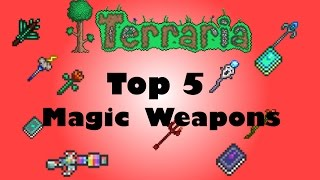 getlinkyoutube.com-Terraria: Top 5 Magic Weapons