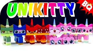 getlinkyoutube.com-LEGO UniKitty Minifigure Collection