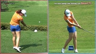 getlinkyoutube.com-[Slow HD] LEE Mi-Rim 2012 Driver Golf Swing Dual View_KLPGA Tour (4)