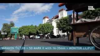 Titikfokus sewa lensa sewa kamera JOGJA : VARAVON TILT JIB T3 9 5ft