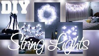 getlinkyoutube.com-5 DIYs with String Lights