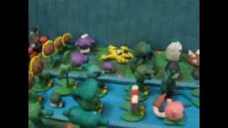 getlinkyoutube.com-Plantas Vs Zombies de Plastilina