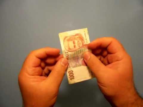 كيف تلصق ورقه نقديه ممزقه ?
