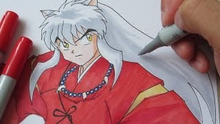 getlinkyoutube.com-[Tutorial] How to draw Inuyasha