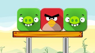 getlinkyoutube.com-Angry Birds Online Games - Episode Angry Birds Pigs Out Levels 1-17 - Rovio games