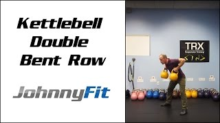 Double Kettlebell Bent Row