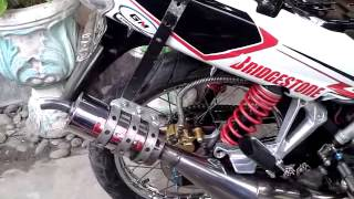 getlinkyoutube.com-Red Magnum kenalpot Racing F1ZR By Darwin..
