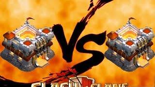 getlinkyoutube.com-Clash of clans - บ้านเลเวล.11 Vs บ้านเลเวล.11