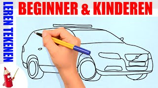 getlinkyoutube.com-Politieauto tekenen in 100s - Leren tekenen voor beginners en kinderen ★ Deel 20