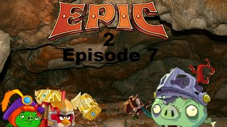 getlinkyoutube.com-Angry Birds Epic 2 Plush Adventures Episode 7: Knight of the Living Dead
