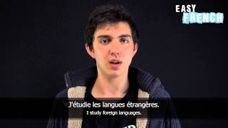 10 Sentences to introduce yourself - Easy French Basic Phrases