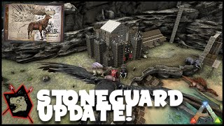 ARK Survival Evolved Gamplay #45 Stone Guard Updates + New Dossier!