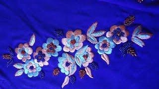 getlinkyoutube.com-مجموعة مختارة لكم احبائي من طرز الرباطي Embroidery 2015