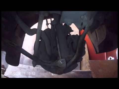 Расположение у FAW В5 заднего ступичного подшипника